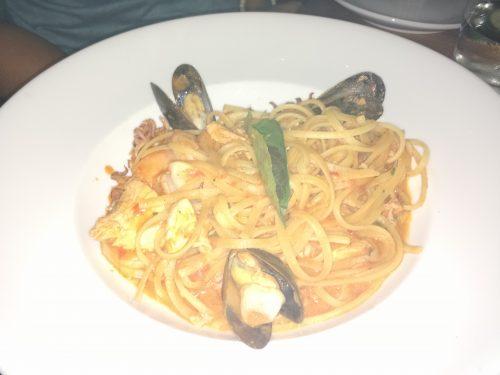 Seafood Spaghetti – Taste on Melrose