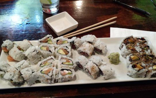 Tuna, Salmon Avacado, Ell Avacado, 420 roll - Roppongi Asian Tapas Bar & Sushi